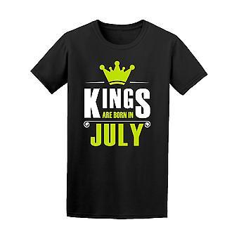 Kuninkaat ovat syntyneet heinäkuussa Miesten t-paita - kuva: Shutterstock