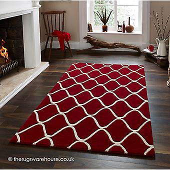 Kluwen van rode tapijt