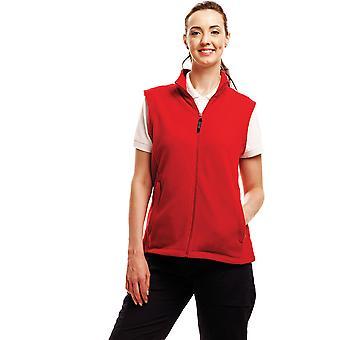 Regatta Ladies Micro Fleece Bodywarmer Gilet TRA802 Red
