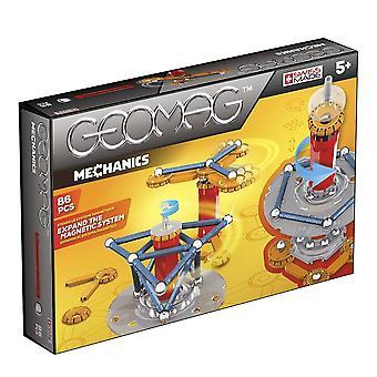 Geomag mekaniikka magneettinen Construction Set 86-osainen monivärinen