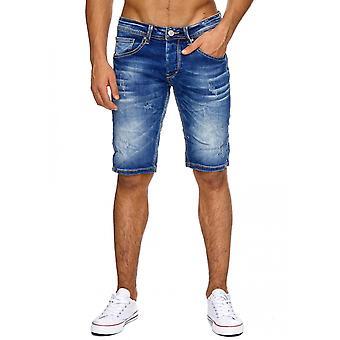 Korte bukser tårer menn Shorts Stonewashed menns shorts dratt frynsete