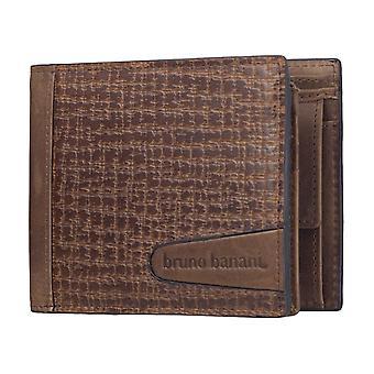 Bruno banani mens wallet wallet purse Brown 3777