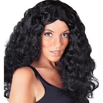 Perruque Barbara Black cheveux longs boucles