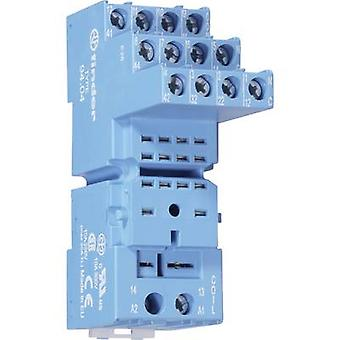 Finder 94.94.3 Relay socket Compatible with series: Finder 55 series 1 pc(s)