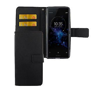 Funda de teléfono móvil para el teléfono Sony Xperia XZ2 compacto negro