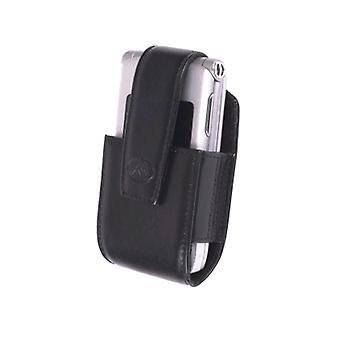 5 Pack -Milante Bruna Belt Clip Leather Pouch - Universal (Black)