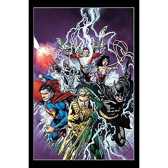 Liga de la justicia - perno Poster Print