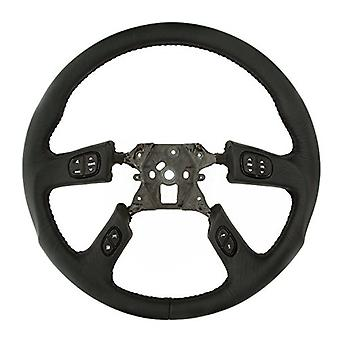 Grant 61037 Revolution Style OEM Airbag Replacement Steering Wheel (Black Leather Wrapped), 1 Pack