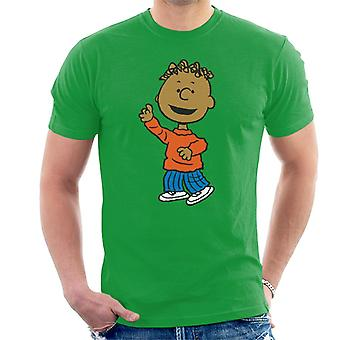 Peanuts Franklin Armstrong Men's T-Shirt