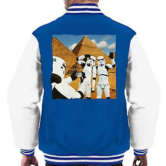 Original Stormtrooper Selfie Pyramids Men's Varsity Jacket