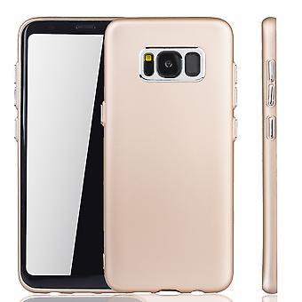 Samsung Galaxy S8 - matkapuhelin kotelo Samsung Galaxy S8 - liikkuva tapaus kultaa