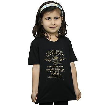 Avenged Sevenfold Girls Seize The Day T-Shirt