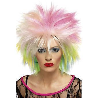 Long Multi Spikey Wig, 80's Cute Wig , Attitude Wig