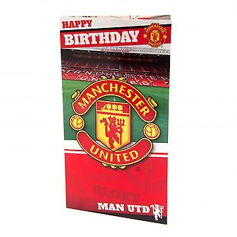 マンチェスター ・ ユナイテッド FC スタジアムの誕生日カード