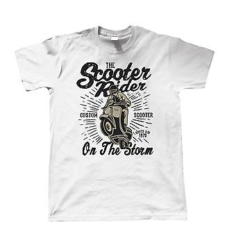 The Scooter Rider, Mens T Shirt