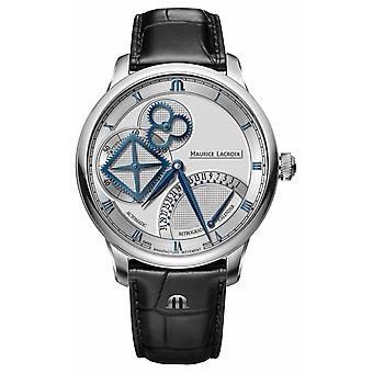 Maurice Lacroix Masterpiece Square Wheel Retrograde Automatic MP6058-SS001-110-1 Watch
