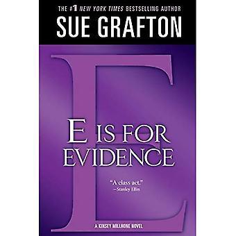 E Is voor bewijs