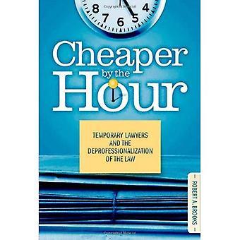 Von Stunde zu Stunde billiger