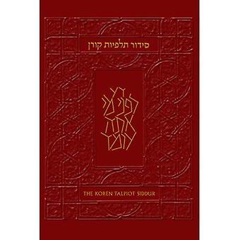 Le Siddur de Talpiot Koren: Un livre de prières hébraïque avec consignes, Ashkenaz