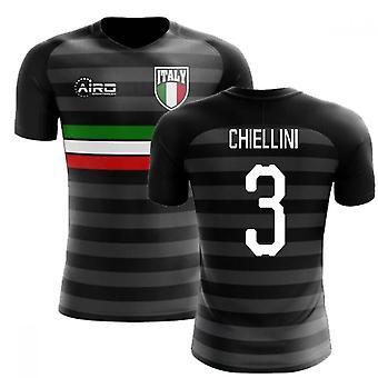2020-2021 Italy Third Concept Football Shirt (Chiellini 3)