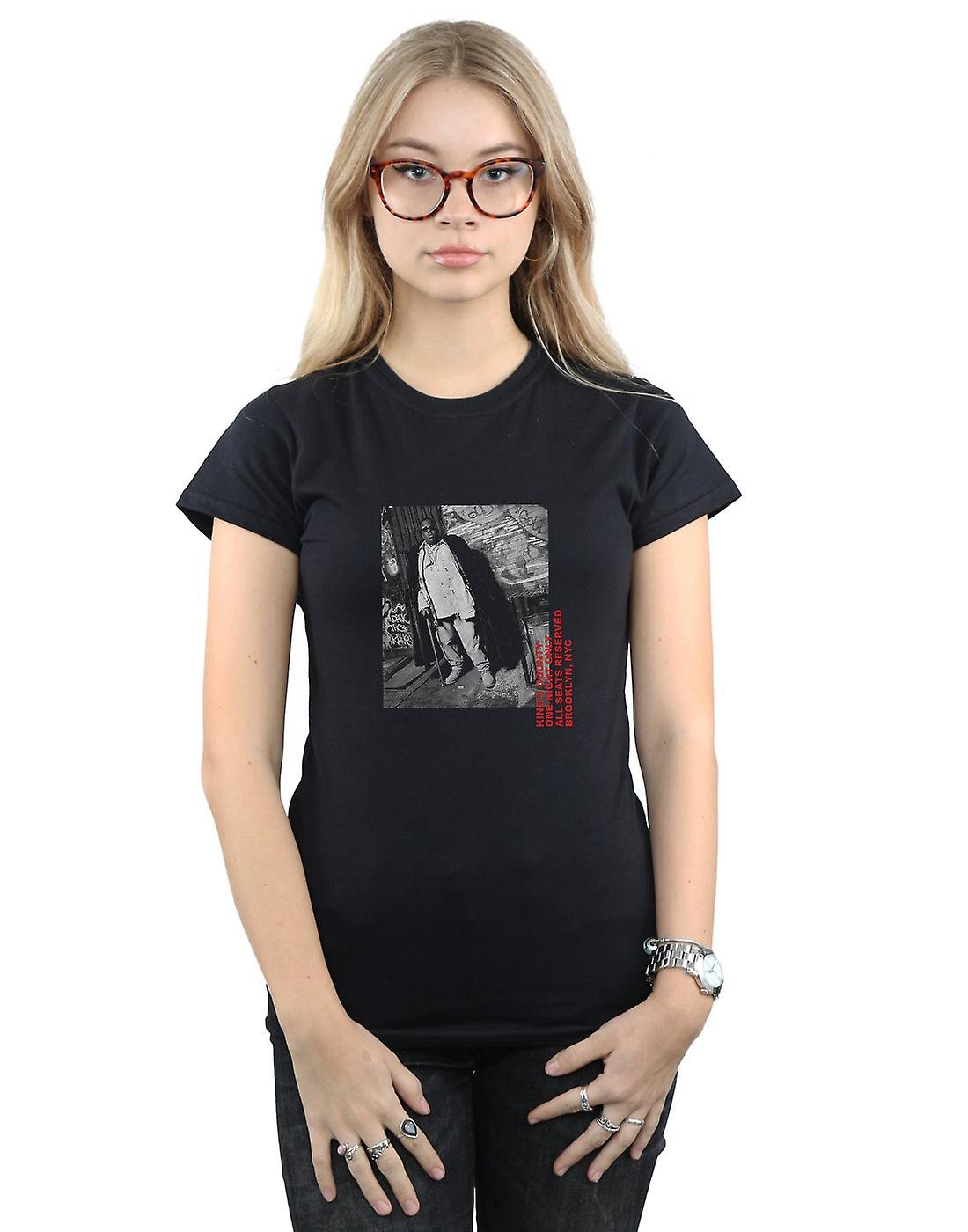 Notorious BIG Women's Cane Photo T-Shirt