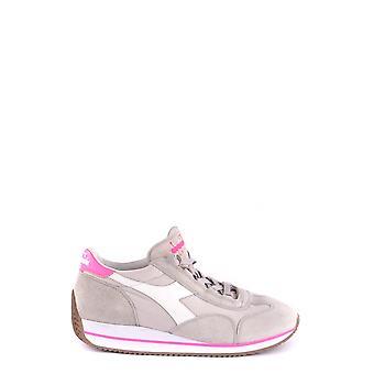 Diadora Ezbc116038 Mujer's Zapatillas de Cuero Gris