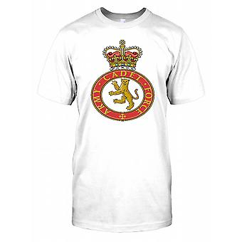 Army Cadet Force Insignia Kids T-Shirt