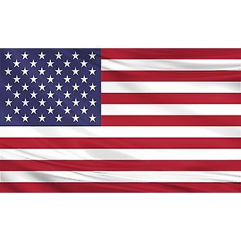 Verenigde Staten vlag 3 ft x 5 ft Polyester stof onderdaan van een land