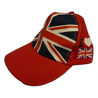 Union Jack Wear I Love Britain Baseball Cap
