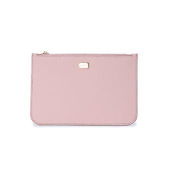 Dolce E Gabbana Bi1227a10018h402 Women's Pink Leather Clutch