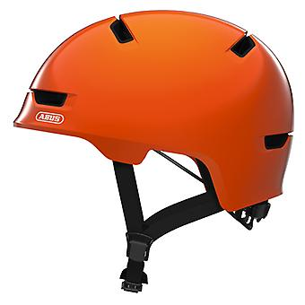 Abus scraper kid 3.0 bike helmet / / shiny orange