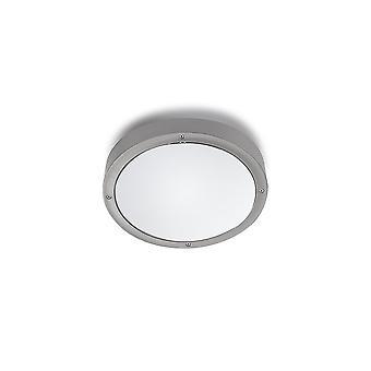 Lysdioder-c4 grundläggande utomhus ljus grå med Opal diffusor