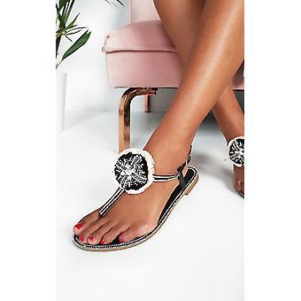 ИКРАШ женская Саския драгоценная сандалии т-бар