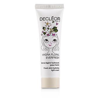 Hydra Floral Everfresh Fresh Skin Hydrating Light Cream - For Dehydrated Skin - 30ml/1oz