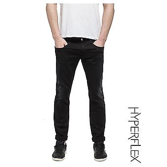 Replay Jeans Hyperflex Anbass reguliere slim fit jeans (gewassen zwart)
