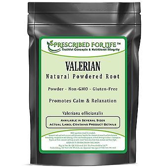 Valerian-Naturwurzelpulver (Valeriana officinalis)