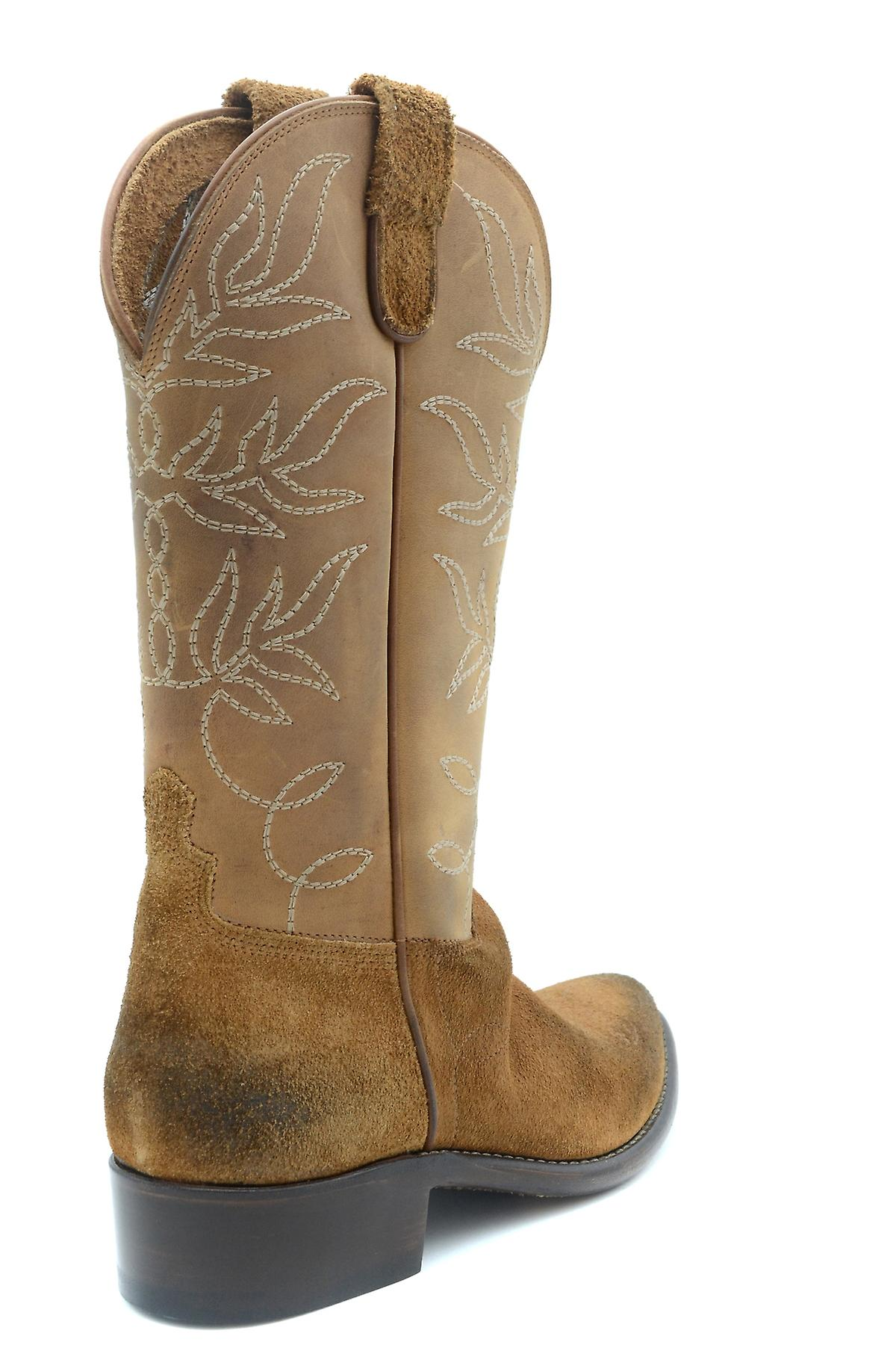 L.a L.a Tex Exbc287003 Women's Brown Suede Boots