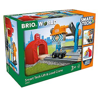 BRIO World-Smart Tech Railway-havenkraan