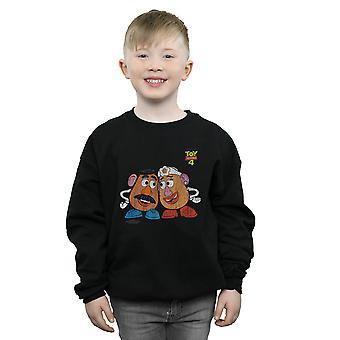 Disney Boys Toy Story 4 Mr And Mrs Potato Head Sweatshirt
