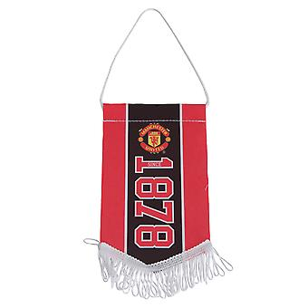 Manchester United FC Official Established Football Crest Pennant