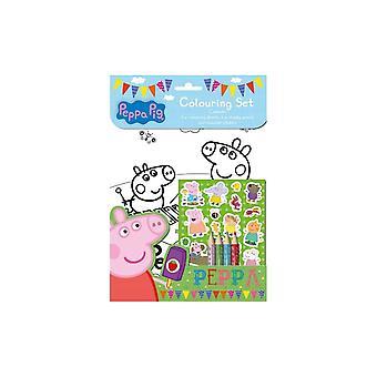 Peppa Pig kleur set