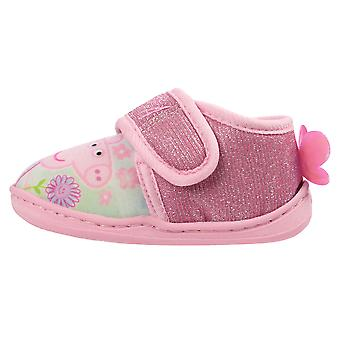 Peppa Pig Girls Megata Low Top Slippers UK Sizes Child 5-10