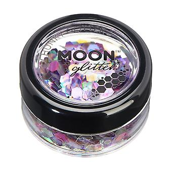 Mystic Chunky Glitter by Moon Glitter – 100% Cosmetic Glitter for Face, Body, Nails, Hair and Lips - 3g - Fairytale