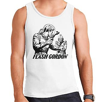 Flash Gordon Ming Face Off Men's Vest