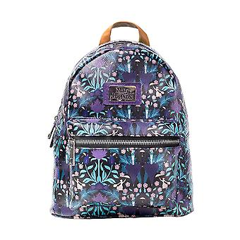 Mary Poppins Backpack Flowers Logo all over Print new Official Disney Womens