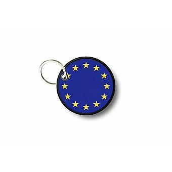 Cle Cles Clef brode patch Ecusson flagga Cocarde Europe UE CEE union