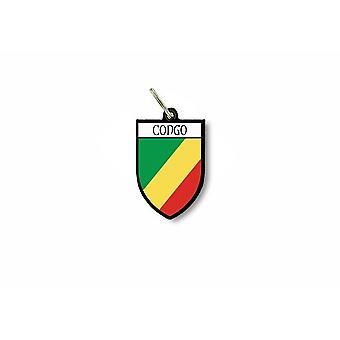 مفتاح الباب الرئيسي cle العلم جمع مدينة الكونغو الكونغو معطف