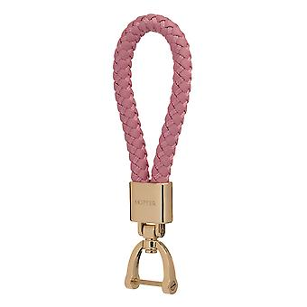 Skipper riipus avaimen perä nahka/Nylon kulta/vaaleanpunainen 8057