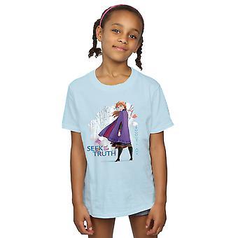 Disney tytöt jäädytetty 2 Anna etsiä totuus T-paita