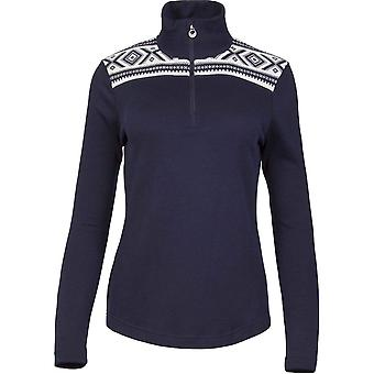 Dale of Norway Women's Cortina Basic Sweater - Smoke/Off White